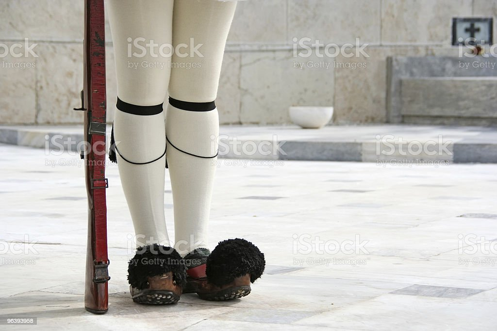 Presidential Guard Legs royalty-free stock photo