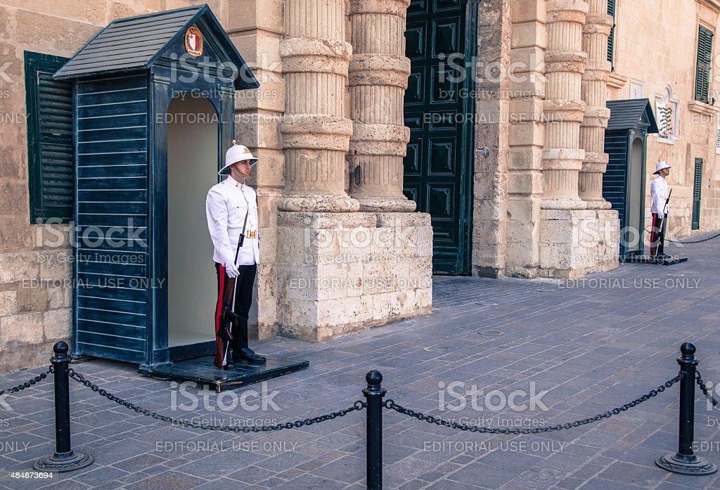 Presidential guard stock photo