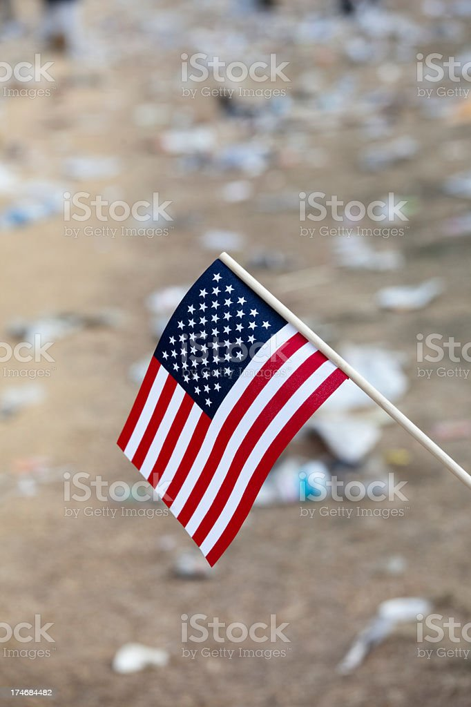 Presidential Inauguration at the Capitol Building, Washington DC stock photo