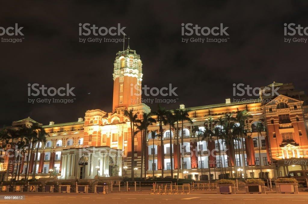 Presidential office Taipei Taiwan stock photo