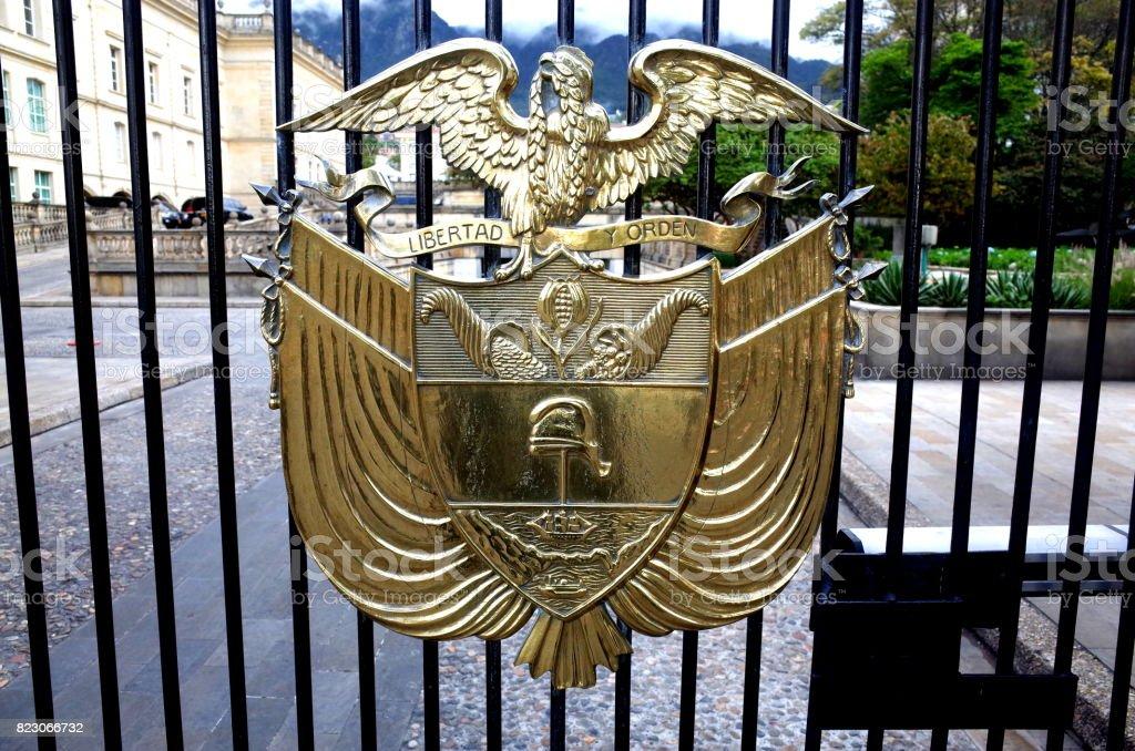 Presidential Palace, Bogota stock photo