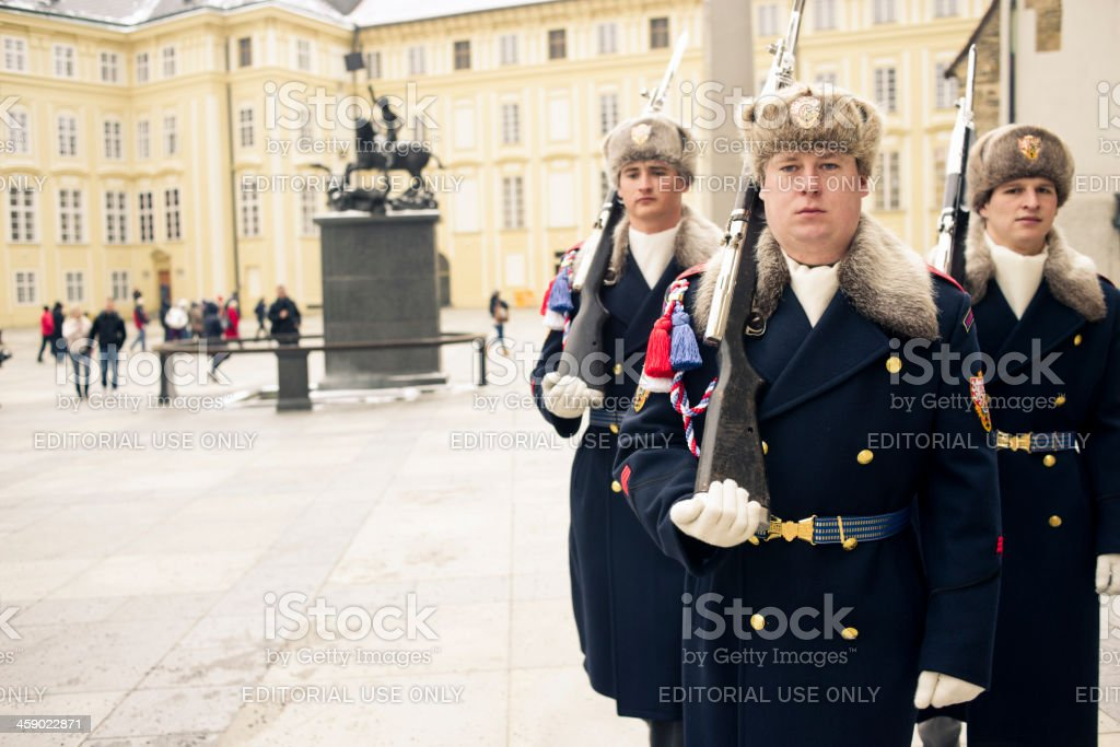 Presidential Palace - Prague royalty-free stock photo