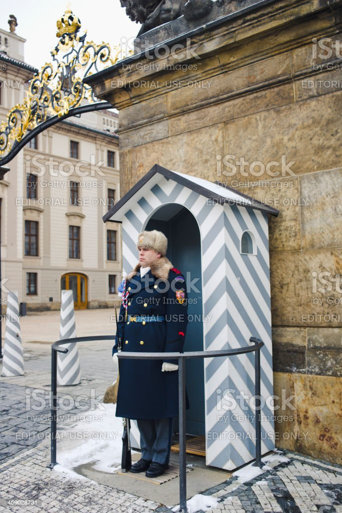 Presidential Palace - Prague stock photo