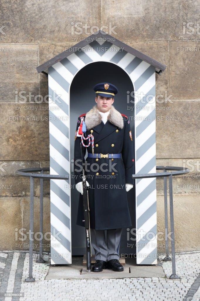 President's Guard stock photo