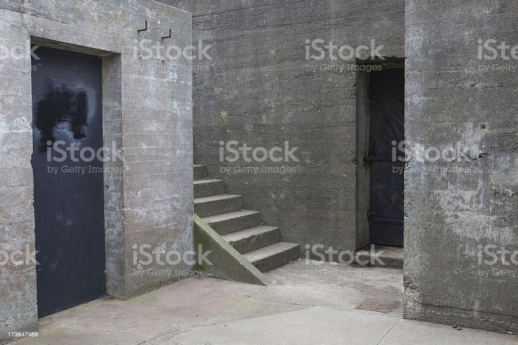 Presidio Bunker stock photo