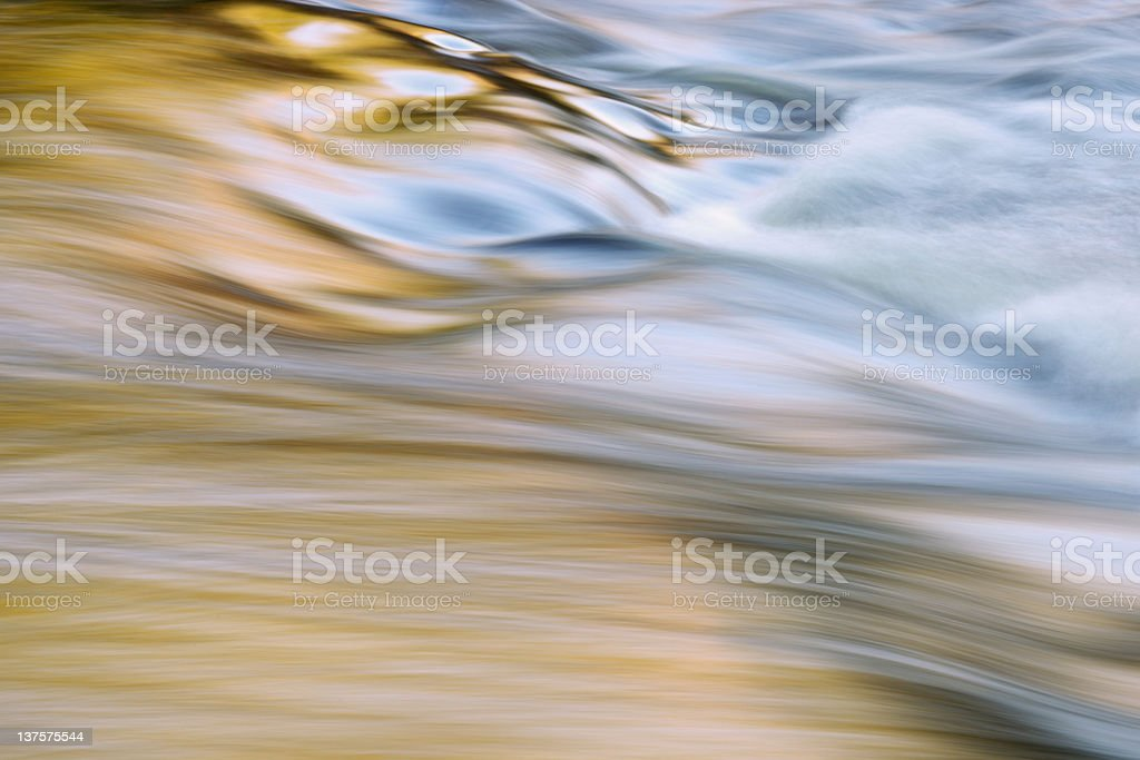 Presque Isle River Reflections royalty-free stock photo