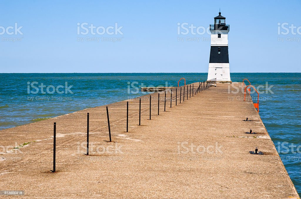 Presque Isle State Park stock photo