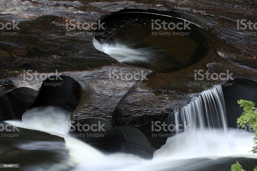 Presque river stock photo