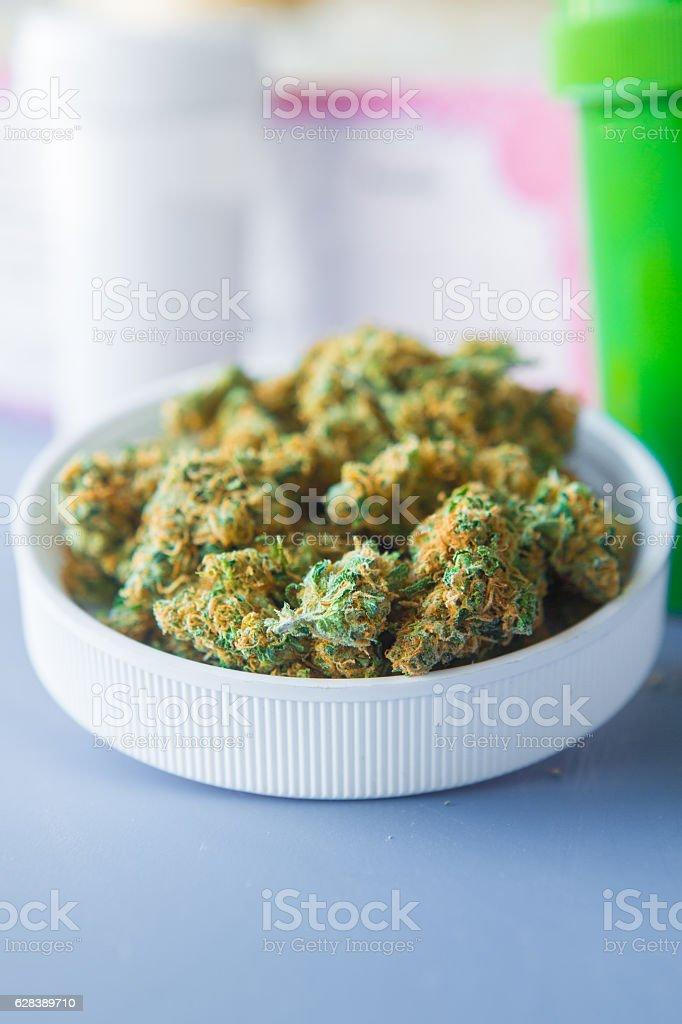 Presription Medical Cannabis stock photo