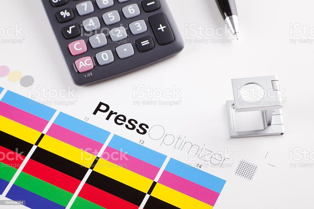 Press Optimizer royalty-free stock photo