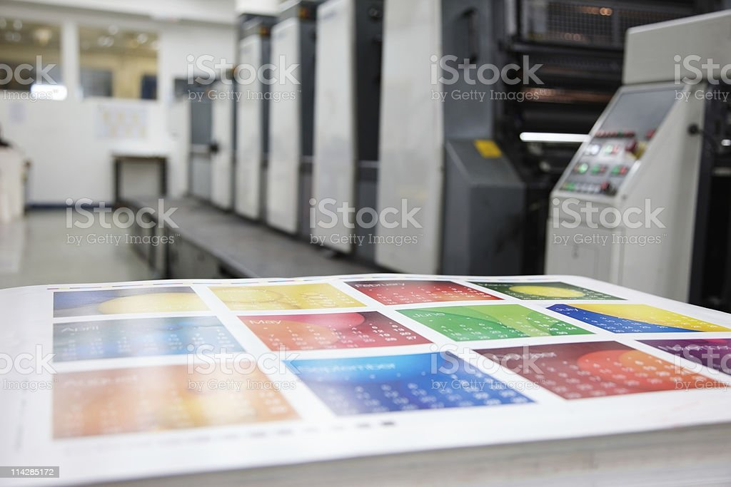 Press Room... royalty-free stock photo