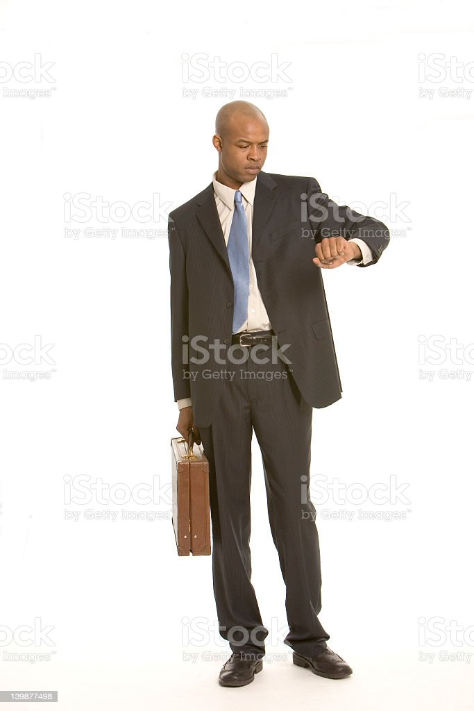 Pressed for time stock photo