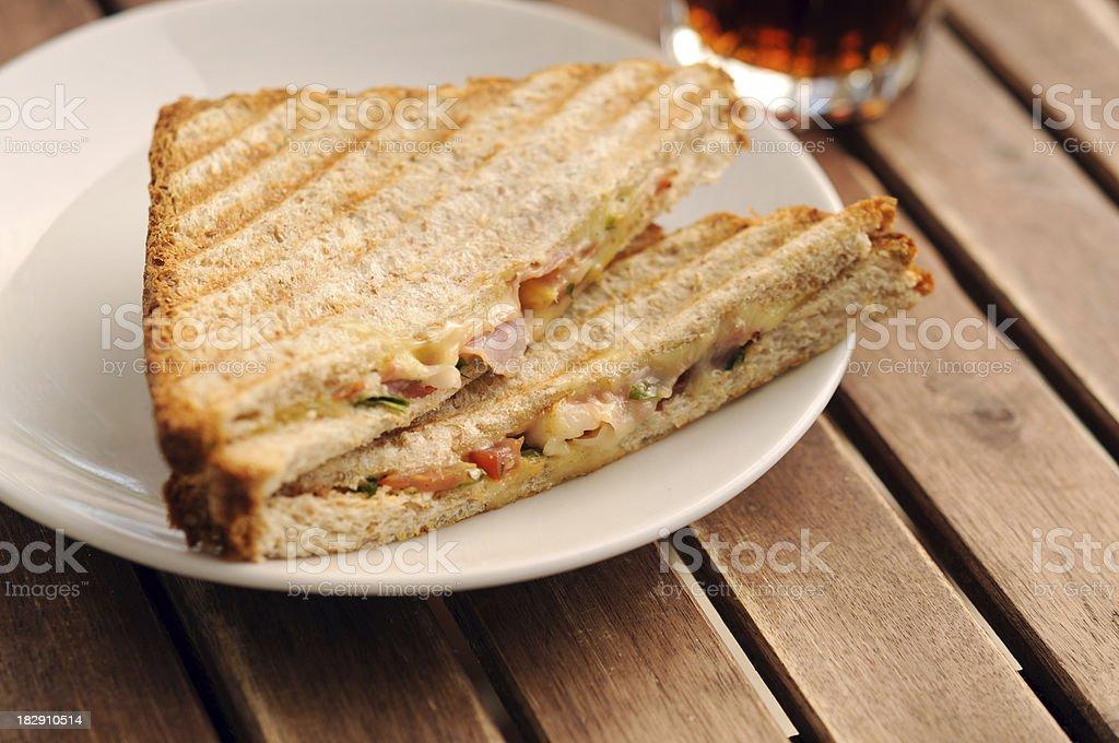 Pressed Sandwich - Panini royalty-free stock photo