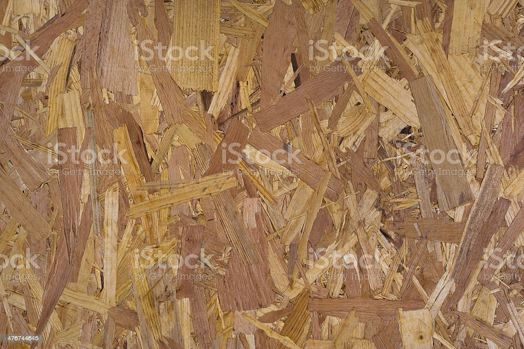 Pressed sawdust royalty-free stock photo