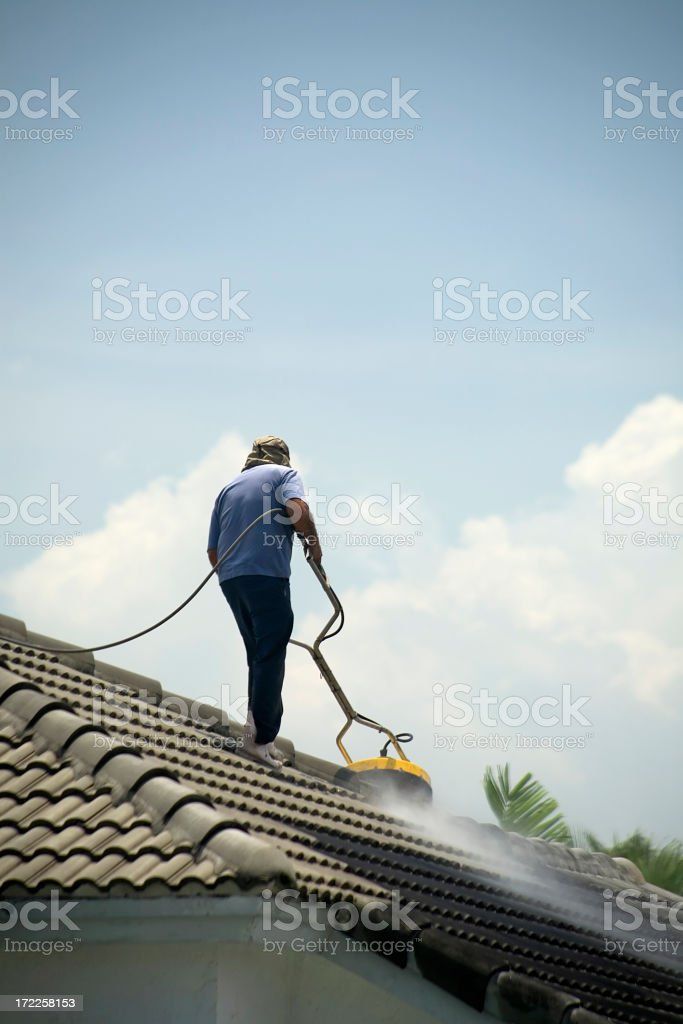 Pressure Cleaner royalty-free stock photo