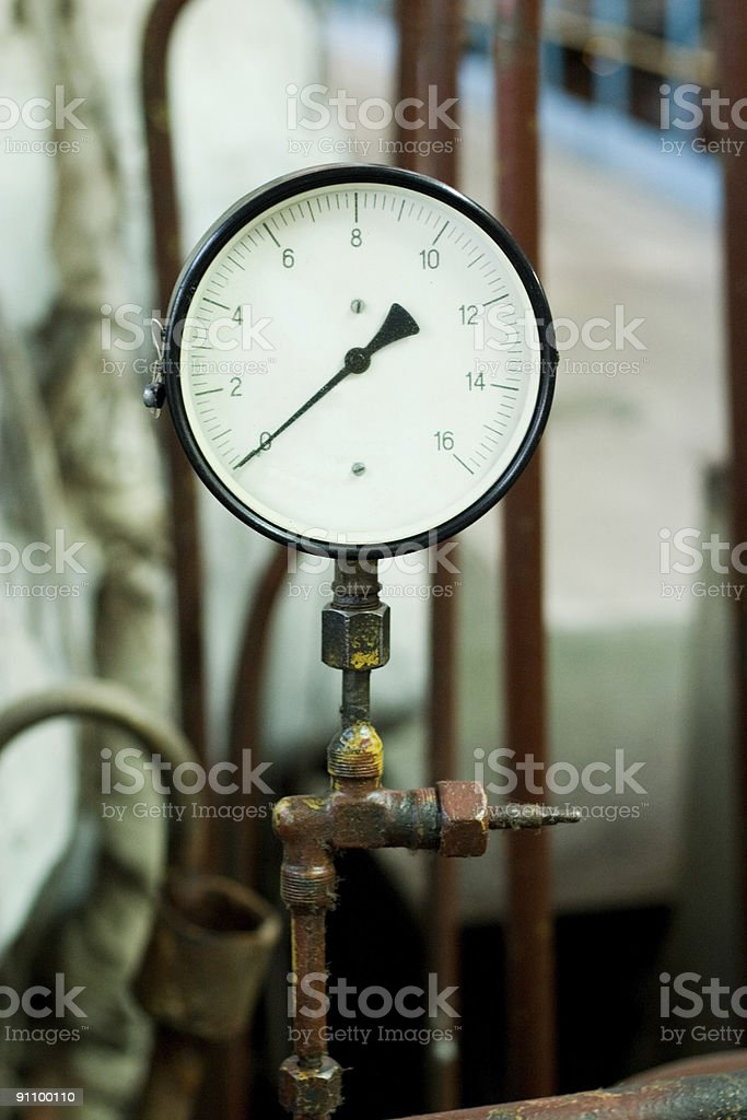 pressure control device royalty-free stock photo