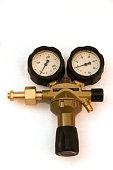 pressure gauges and valves