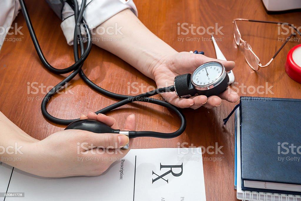 pressure measurement stock photo