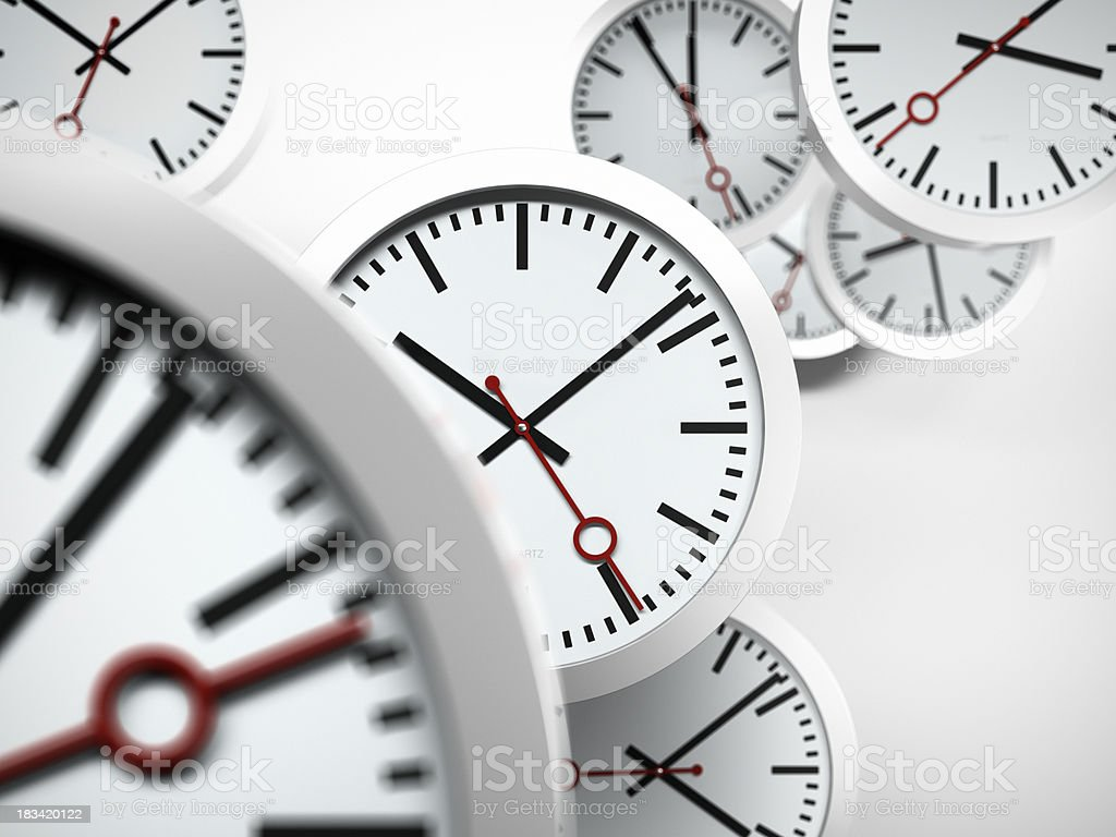 Pressure of Time Concept stock photo
