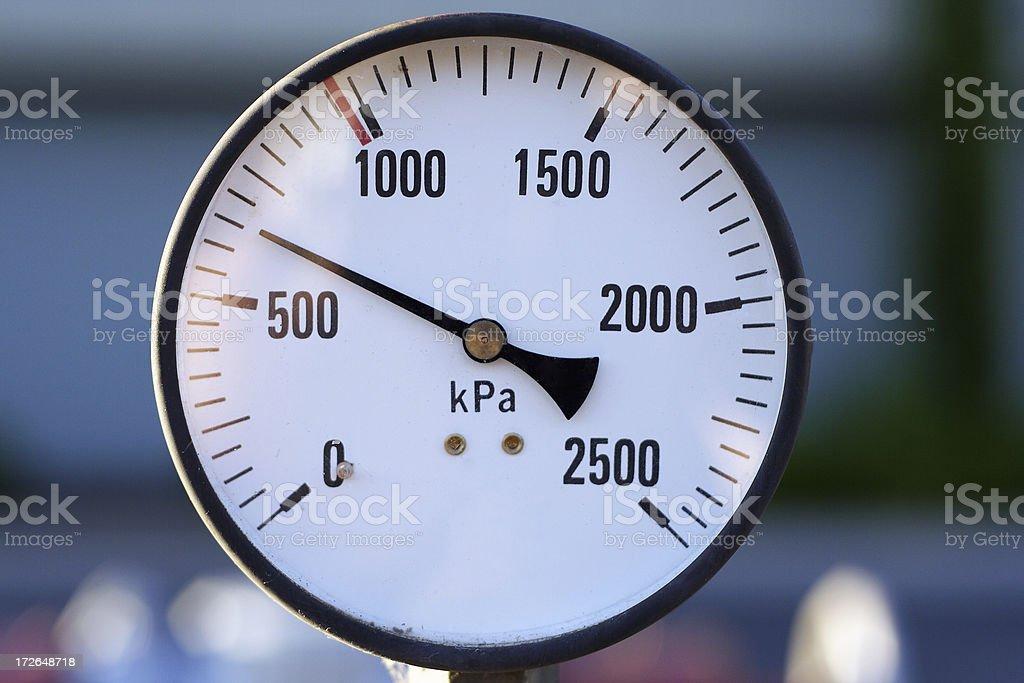 pressure stock photo