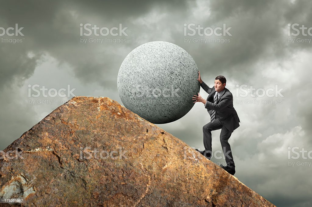 Pressure royalty-free stock photo