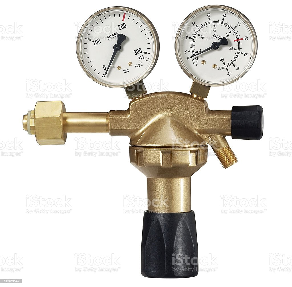pressure reducer stock photo