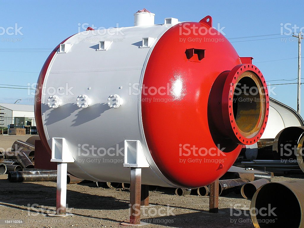 Pressure Vessel royalty-free stock photo