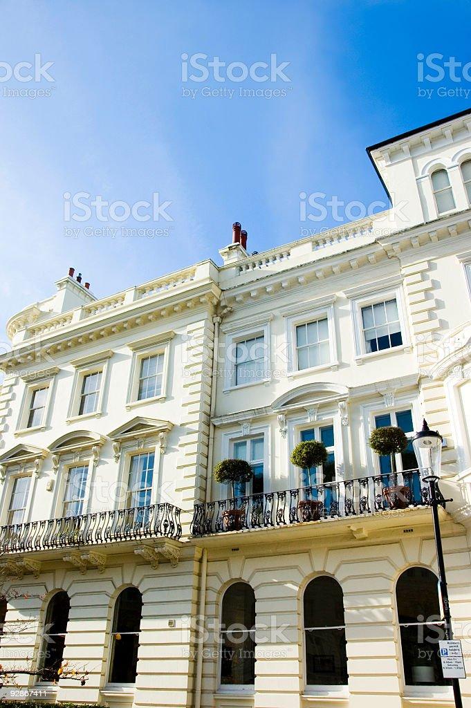 Prestige London Houses royalty-free stock photo
