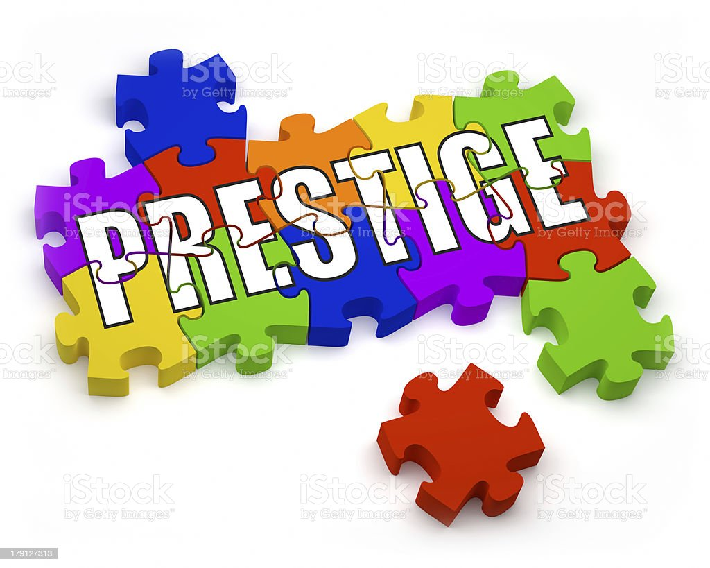Prestige royalty-free stock photo