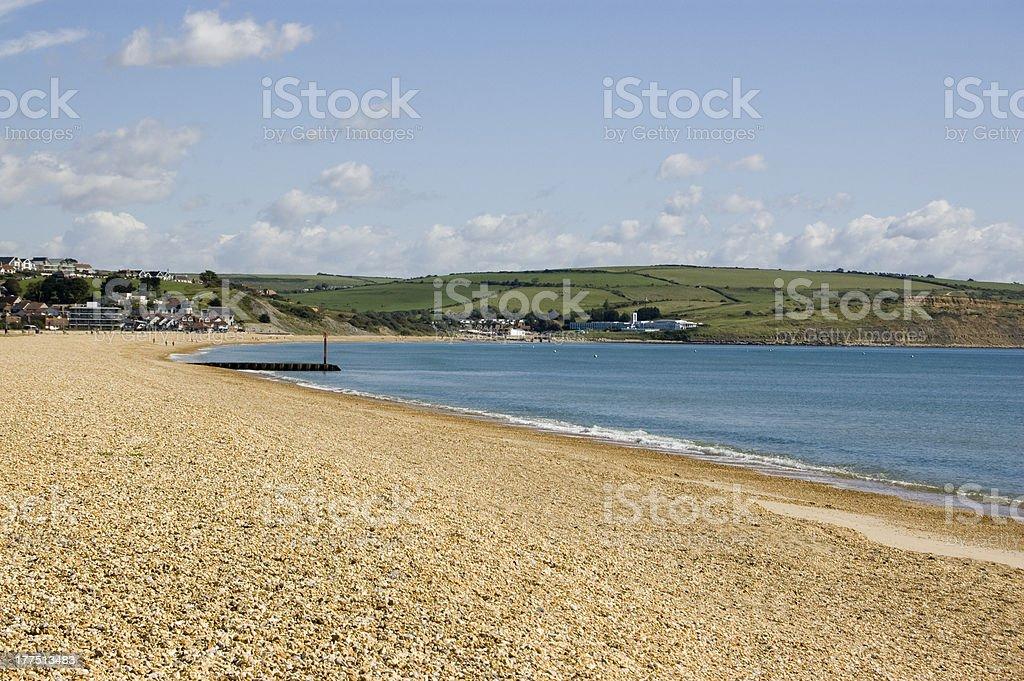 Preston Beach, Weymouth, Dorset stock photo