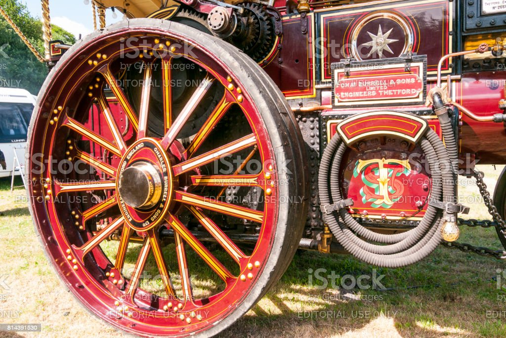 Prestwood Steam Rally, UK stock photo