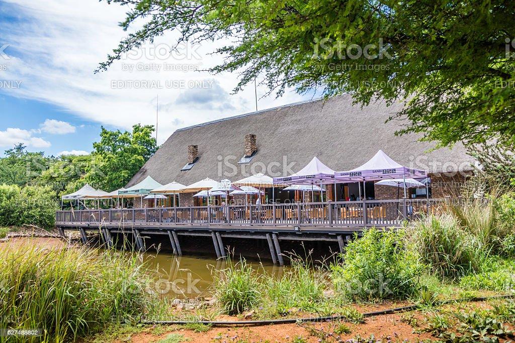 Pretoria Botanical Gardens restaurant (SANBI) stock photo