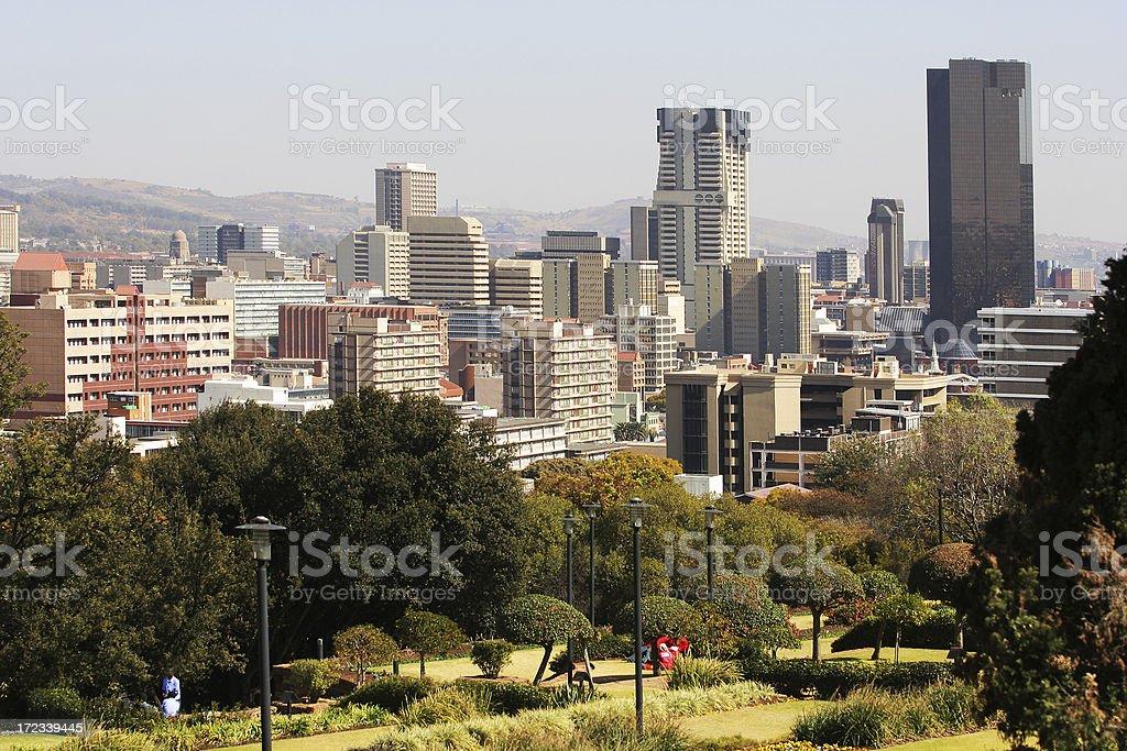 Pretoria CBD South Africa stock photo