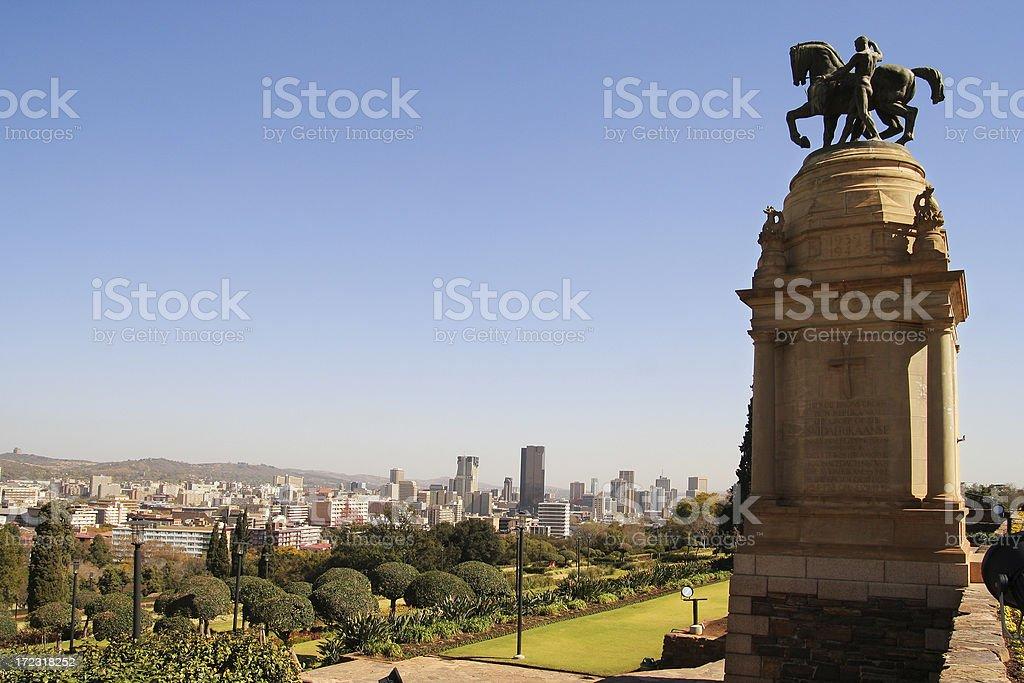 Pretoria CBD, South Africa two stock photo