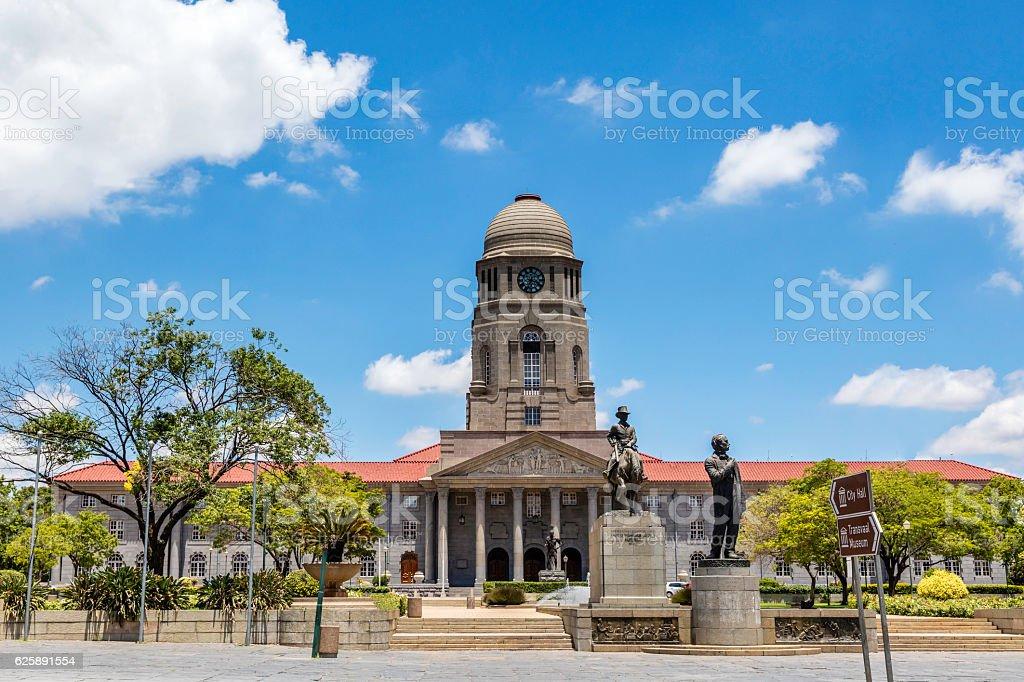 Pretoria City Town Hall stock photo