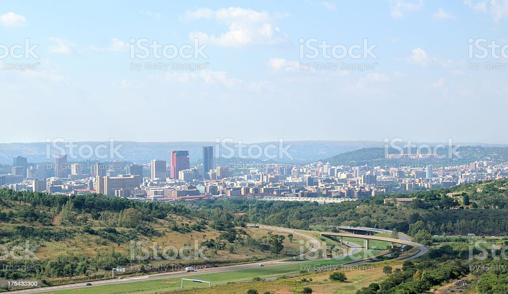 Pretoria skyline stock photo
