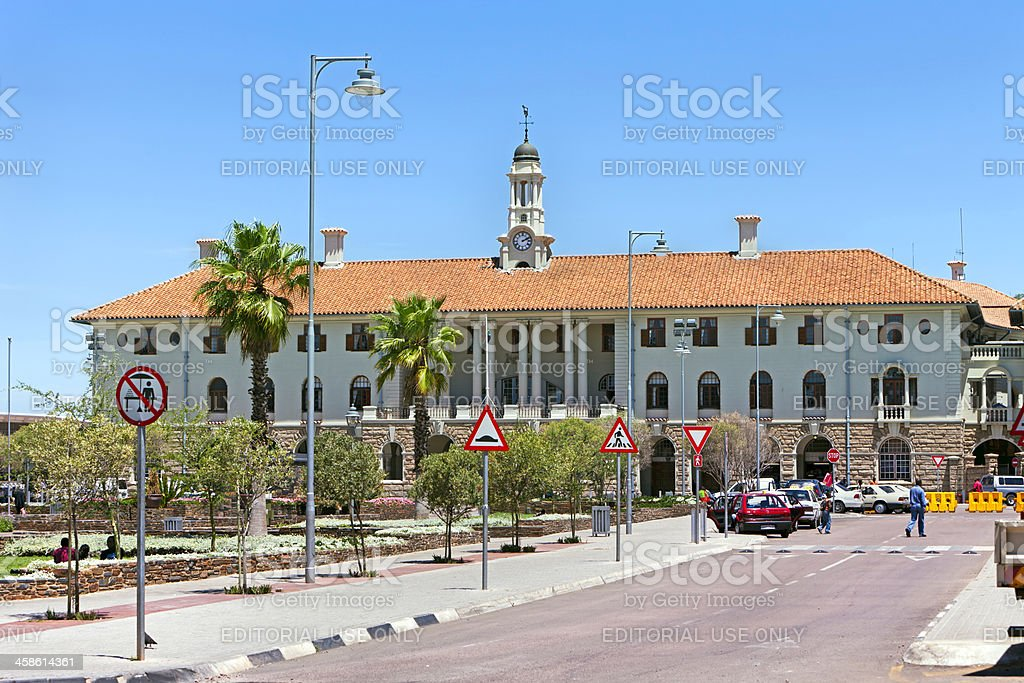Pretoria Station, in South Africa stock photo
