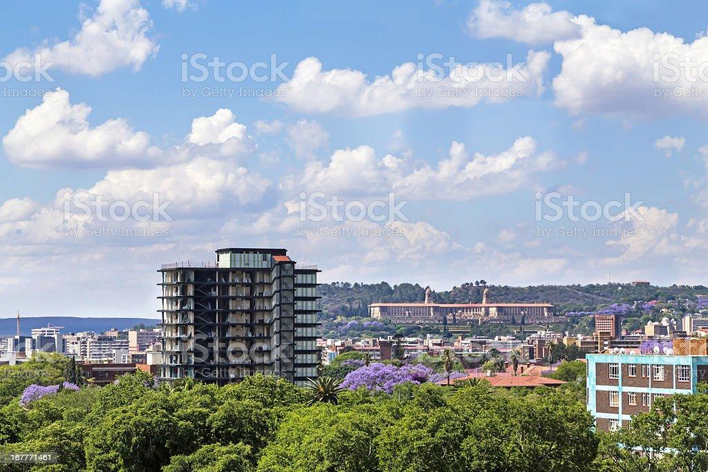 Pretoria /Tshwane City, South Africa stock photo