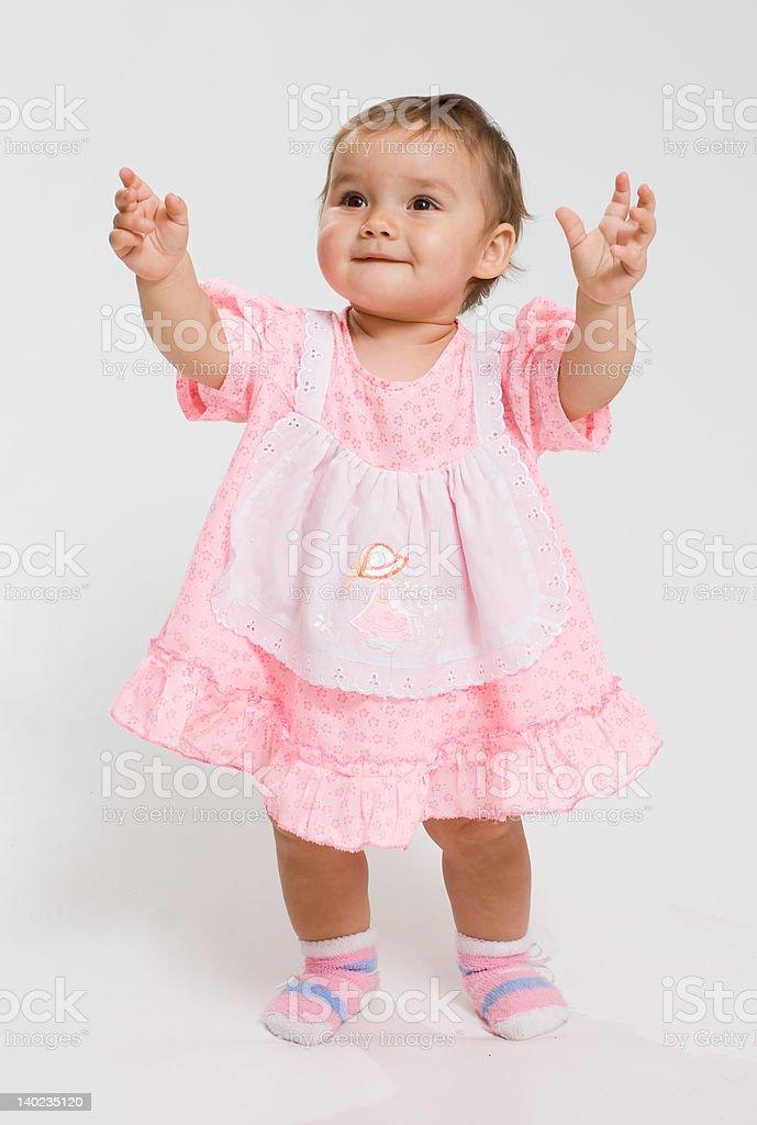 Pretty baby. stock photo