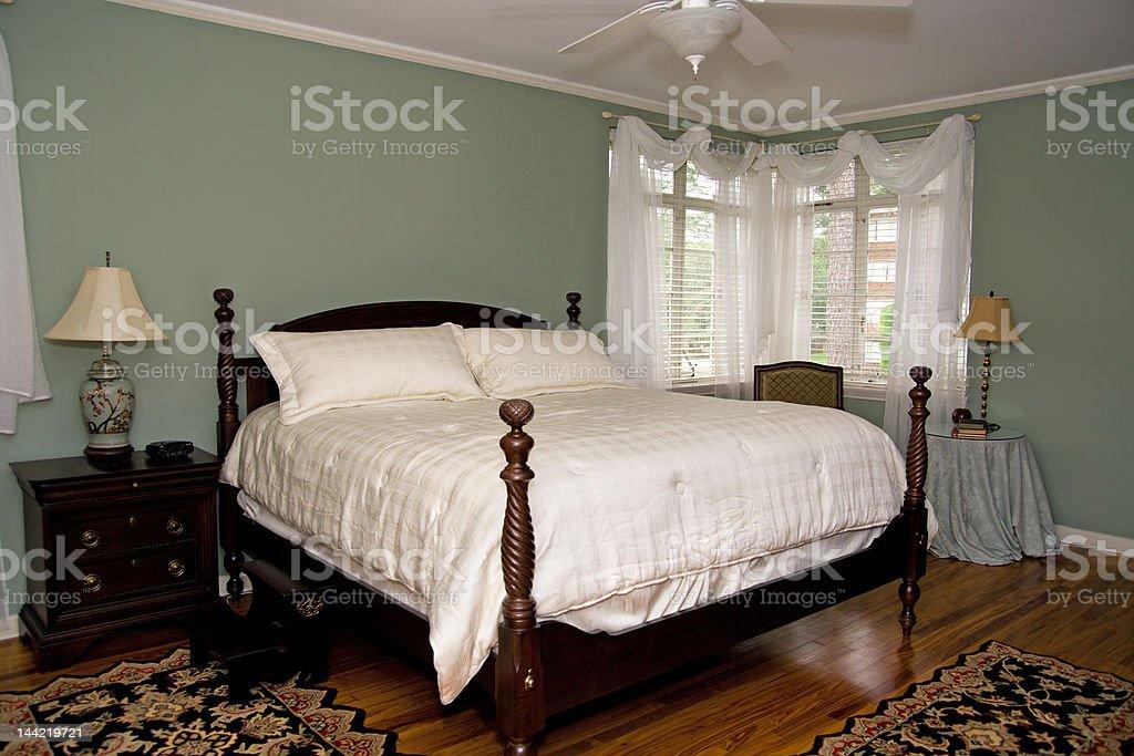 Pretty Bedroom royalty-free stock photo