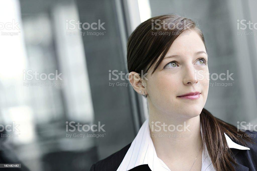 Pretty Businesswoman royalty-free stock photo