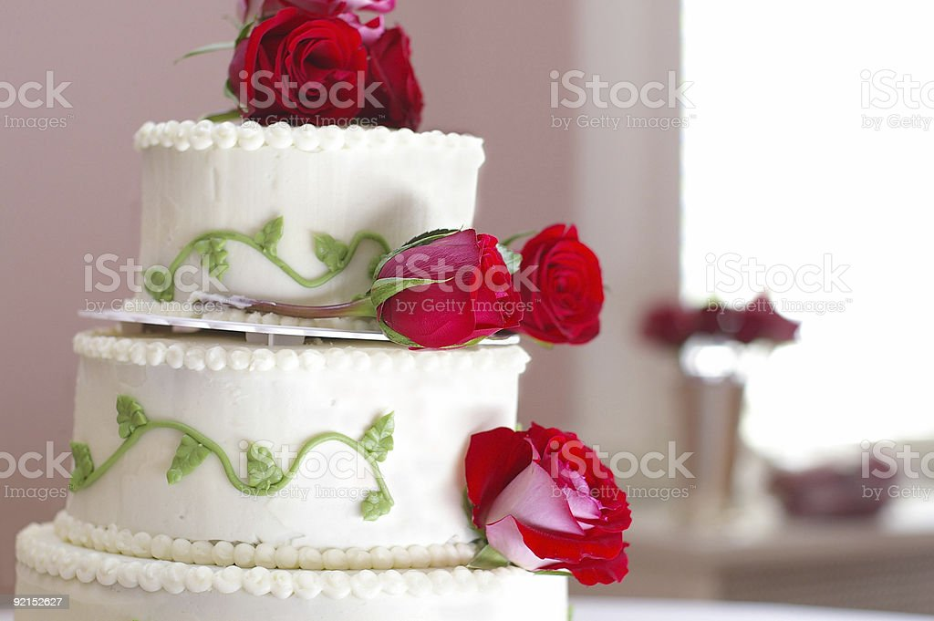Pretty cake royalty-free stock photo