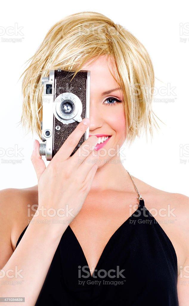 Pretty Camera royalty-free stock photo