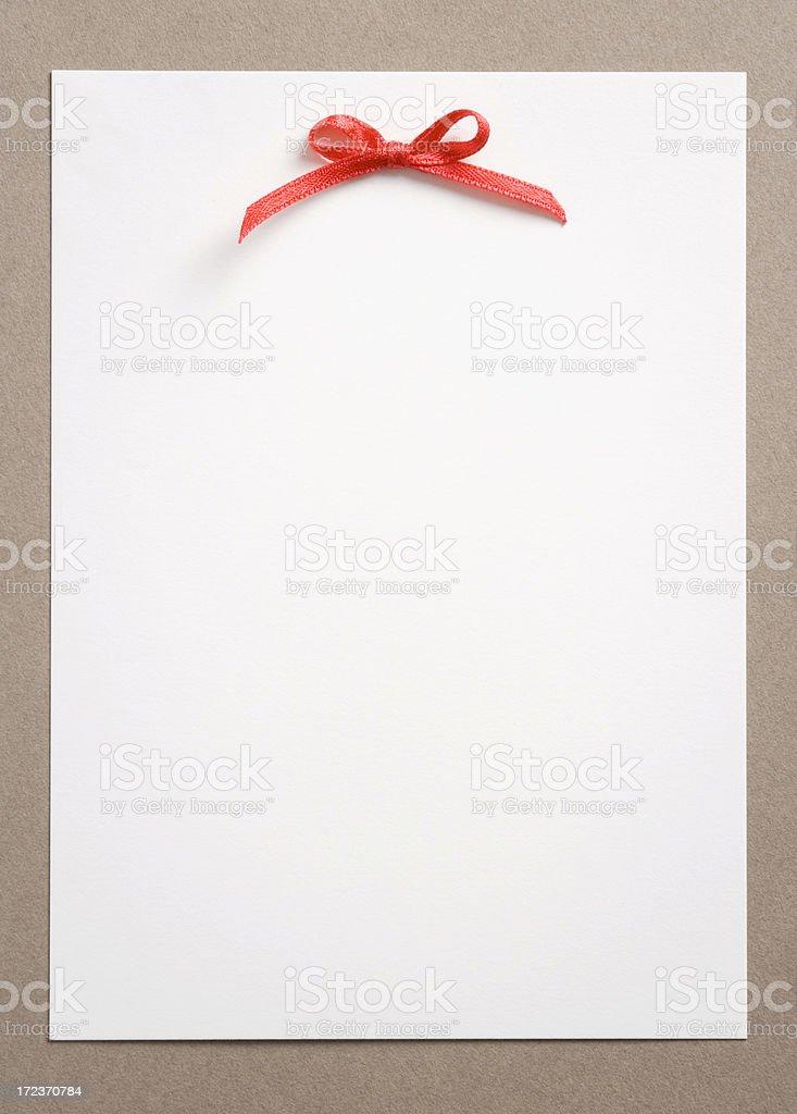 Pretty card royalty-free stock photo