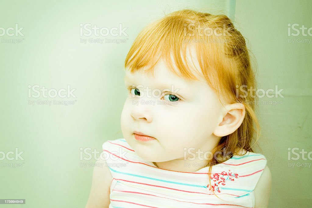 Pretty Child stock photo