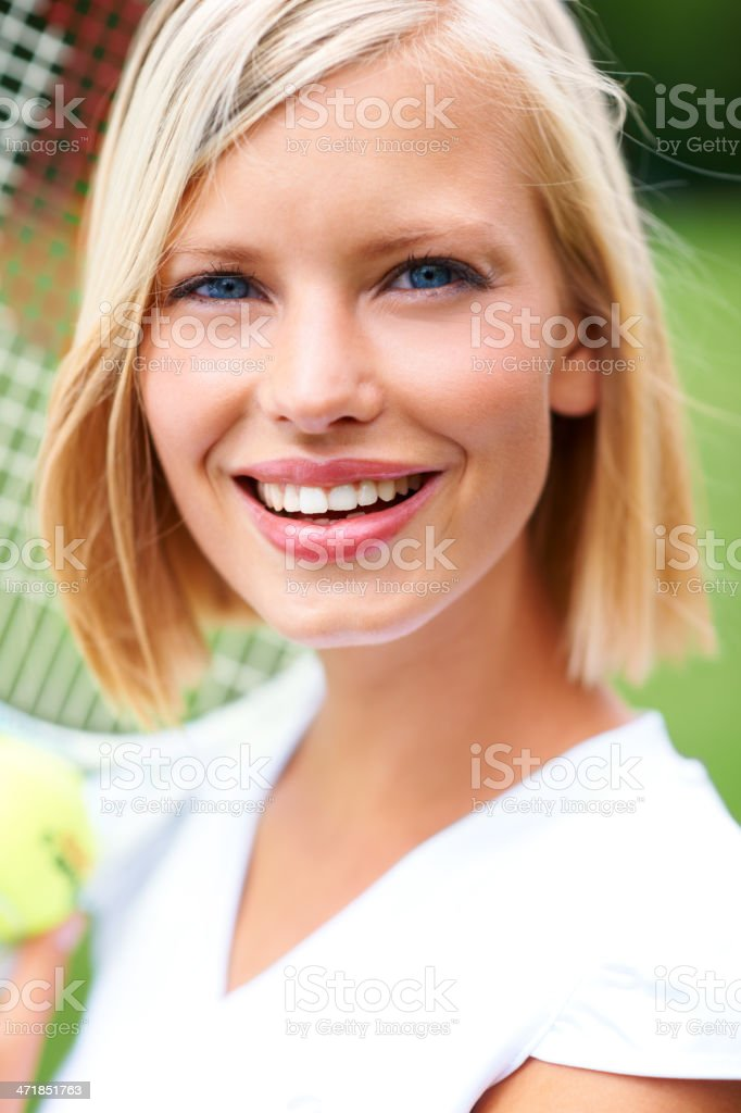 Pretty competitive royalty-free stock photo