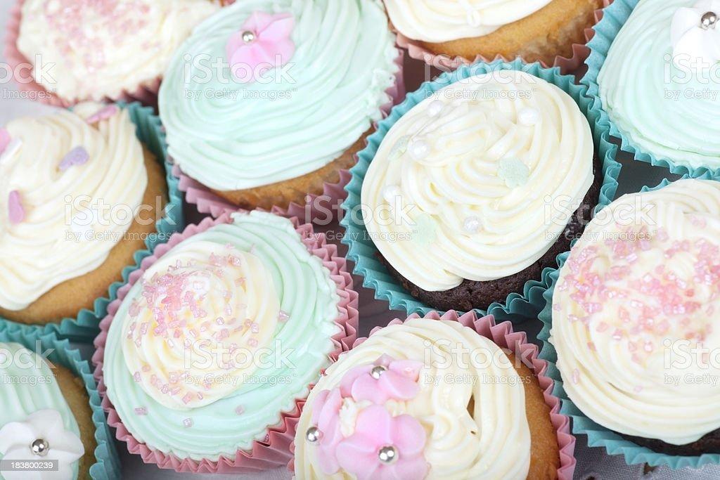 Pretty Cupcakes stock photo