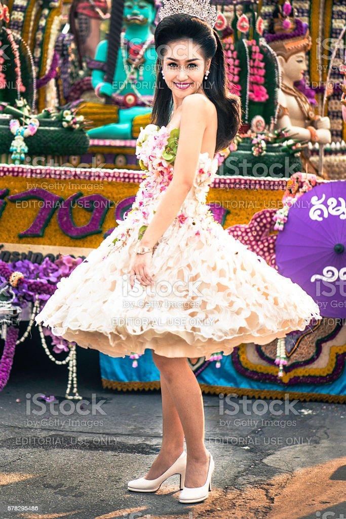 Pretty Dancer stock photo