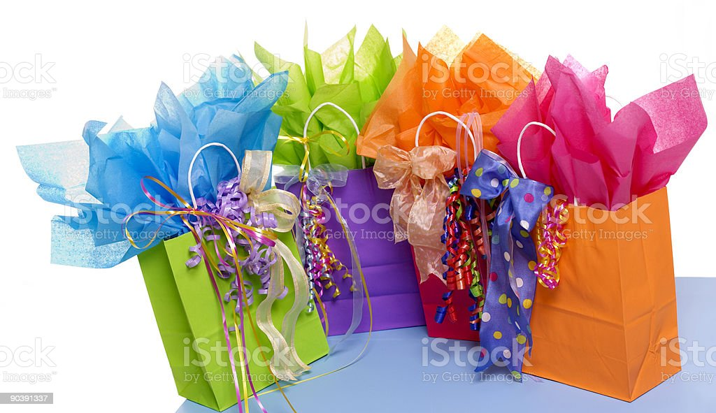 Pretty Gifts royalty-free stock photo