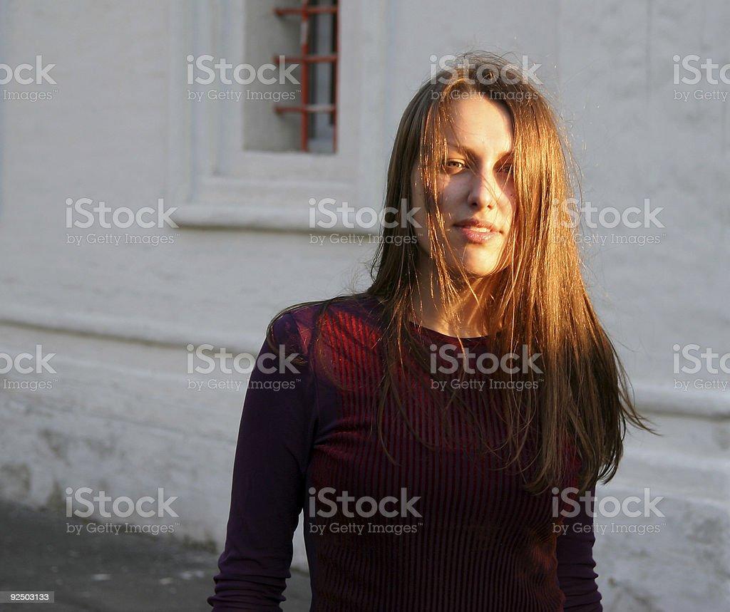Pretty girl 1 royalty-free stock photo
